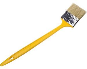 """Кисть радиаторная STAYER """"UNIVERSAL-STANDARD"""", светлая натуральная щетина, пластмассовая ручка, 75мм"""