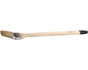 """Кисть радиаторная STAYER """"UNIVERSAL-EURO"""", светлая натуральная щетина, деревянная ручка, 50мм"""