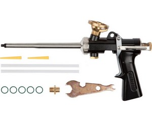 KRAFTOOL GRAND цельнометаллический профессиональный пистолет для монтажной пены