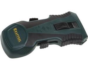 """Скребок """"Safety"""" 2 в 1, KRAFTOOL 08543, двухкомпонентный корпус, тип лезвия H01, пластиковое лезвие в комплекте"""