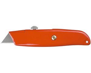 STAYER Master-A24, металлический универсальный нож с автостопом, трап. лезвия А24
