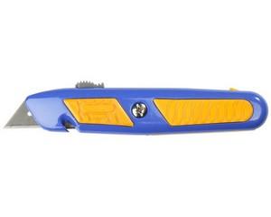 ЗУБР Профессионал Эксперт А24,  универсальный нож с автостопом и быстрой заменой лезвий, трап. лезвия А24