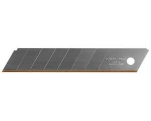 Лезвие KRAFTOOL сегментированное 7 сегм, покр нитрид титана, 18х110х0,5мм, 5шт
