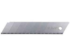 ЗУБР 25 мм лезвия сегментированные, 5 шт