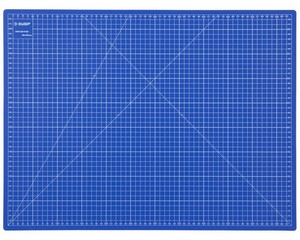 """Коврик ЗУБР """"ЭКСПЕРТ"""", непрорезаемый, 3мм, цвет синий, 600х450 мм"""