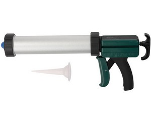 """Пистолет KRAFTOOL """"SUPER-MAX"""" закрытый, алюмин корпус, для герметиков, 11""""/400мл"""