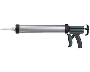 """Пистолет KRAFTOOL """"SUPER-MAX"""" закрытый, алюмин корпус, для герметиков, 15""""/600мл"""