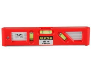 Kraftool Director 220 мм, магнитный компактный уровень