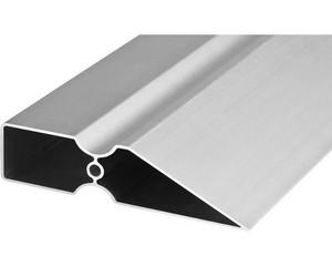 """Правило """"Ergo-Plus"""", KRAFTOOL 10733-1.0, тип TRK-трапеция """"DuoGrip"""", усилен анодированный алюмин профиль, цилиндр ребро жесткости, 1,0м"""