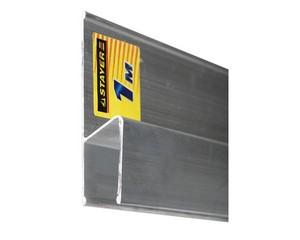Правило для финишной отделки FINISH, 3.0 м, STAYER Professional 10745-3.0