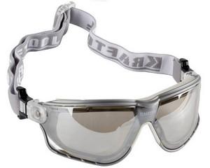 KRAFTOOL SG-5F Прозрачные, очки защитные открытого типа, эластичная наголовная лента, непрямая вентиляция.