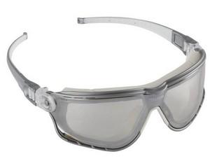 KRAFTOOL SG-5H Прозрачные,очки защитные открытого типа, двухкомпонетные регулируемые дужки, непрямая вентиляция.