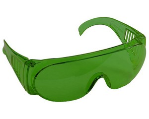 """Очки STAYER """"STANDARD"""" защитные с боковой вентиляцией, зеленые"""