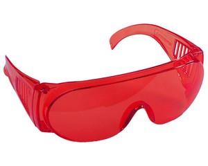 """Очки STAYER """"STANDARD"""" защитные с боковой вентиляцией, красные"""