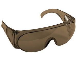 """Очки STAYER """"STANDARD"""" защитные с боковой вентиляцией, коричневые"""