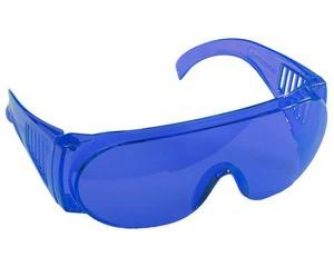 """Очки STAYER """"STANDARD"""" защитные с боковой вентиляцией, голубые"""