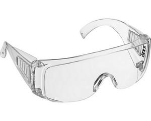DEXX Прозрачные, очки защитные открытого типа, с боковой вентиляцией.