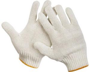 STAYER G-7, размер L-XL, перчатки трикотажные для тяжелых работ без покрытия.
