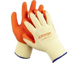 STAYER HARD PRO, размер L-XL, противоскользящие перчатки, 11407-XL