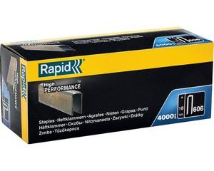 RAPID 18 мм скобы узкие, супертвердые, закаленные тип 55 (C / 14 / 606), 4000 шт