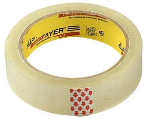 Клейкая лента, STAYER Master 1204-25, прозрачная, 25мм х 60м