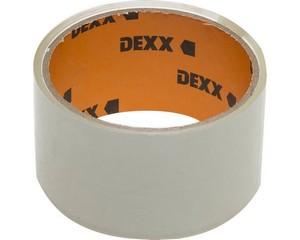 Клейкая лента, DEXX 12055-50-20, упаковочная, прозрачная, 40мкм, 48мм х 20м
