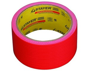 Армированная лента, STAYER Master 12084-50-10, универсальная, влагостойкая, 48мм х 10м, красная
