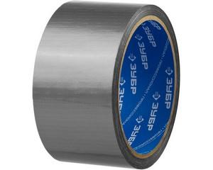 Армированная лента, ЗУБР Профессионал 12090-50-10, универсальная, влагостойкая, 48мм х 10м, серебристая