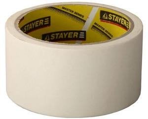 """STAYER """"MASTER"""". Лента малярная креповая, 48мм х 20м"""