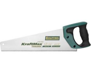 """Ножовка (пила) """"ToolBox-13"""" 350 мм, 13 TPI, специальный зуб, компактная, точный рез всех видов материалов, KRAFTOOL"""