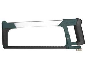"""Ножовка KRAFTOOL """"PRO"""" по металлу, Би-металл полотно, особо высокое натяжение полотна, обрезин рукоятки, 300мм"""
