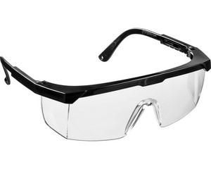 STAYER OPTIMA Прозрачные, очки защитные открытого типа, регулируемые по длине дужки.