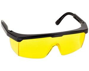 """Очки STAYER """"MASTER"""" защитные, желтые, регулируемые по длине дужки"""