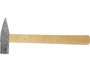 """Молоток ЗУБР """"СТАНДАРТ"""" слесарный оцинкованный с деревянной ручкой, 400г"""