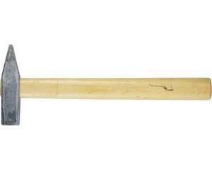 """Молоток ЗУБР """"СТАНДАРТ"""" слесарный оцинкованный с деревянной ручкой, 500г"""