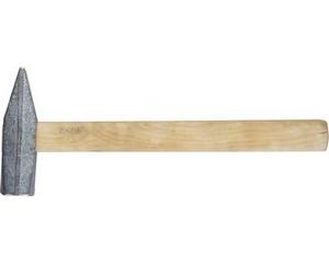 """Молоток ЗУБР """"СТАНДАРТ"""" слесарный оцинкованный с деревянной ручкой, 800г"""