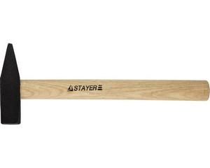 """Молоток STAYER """"STANDARD"""" слесарный кованый с деревянной рукояткой, 0.5кг"""