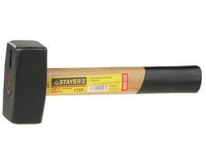 """Кувалда STAYER """"MASTER"""" кованая с деревянной ручкой, 1,25кг"""