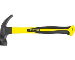 Молоток-гвоздодер кованый с магнитом, STAYER, PROFESSIONAL, 2027-450