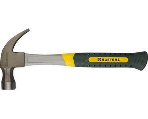 Молоток-гвоздодёр 560 г с фиберглассовой рукояткой, KRAFTOOL 20280-560