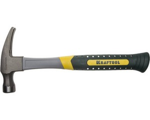 Молоток-гвоздодер кованый, KRAFTOOL, 20281-450