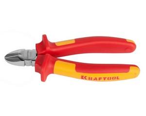 """Бокорезы """"ELECTRO-KRAFT"""", Cr-Mo сталь, двухкомпонентная маслобензостойкая рукоятка, хромированное покрытие, 160мм, KRAFTOOL 2202-5-16"""