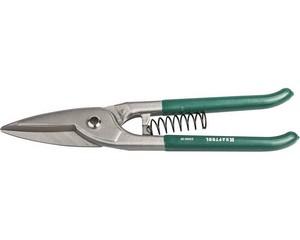 KRAFTOOL BERLINER Ножницы по металлу цельнокованые, длинный прямой рез, 260 мм