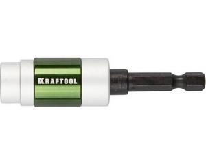 "Адаптер KRAFTOOL ""EXPERT"" для бит с магнитным держателем крепежа, 70мм"