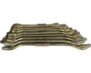 Набор гаечных ключей рожковых, STAYER, 27046-H8