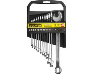 Набор комбинированных гаечных ключей 12 шт, 6 - 22 мм, STAYER