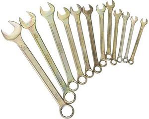 Набор гаечных ключей комбинированных, STAYER, 27090-H12