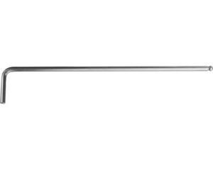 """Ключ KRAFTOOL """"INDUSTRIE"""" имбусовый, длинный c шариком, Cr-Mo, хромосатинированное покрытие, HEX 3"""