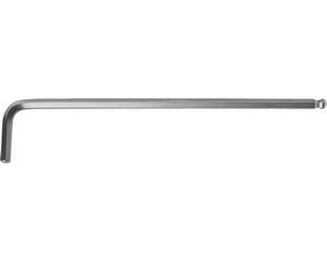 """Ключ KRAFTOOL """"INDUSTRIE"""" имбусовый, длинный c шариком, Cr-Mo, хромосатинированное покрытие, HEX 5"""