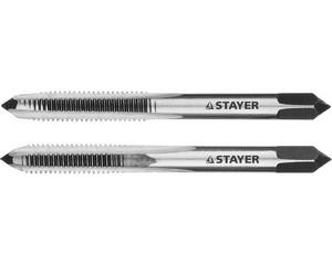 "Комплект метчиков STAYER ""MASTER"", сталь 9ХС, М5х0,8, 2 шт"